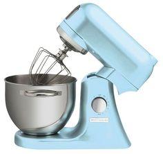 Wartmann Keukenmachine IJsblauw 1000 WATT Wilt u mixen, kloppen en mengen dan is deze Wartmann standmixer keukenmachine met een vermogen van maar liefst 1000 Watt een uitstekende keuze. De Wartmann standmixer keukenmachine heeft een stevige behuizing van gegoten aluminium en een mooie, klassieke, vormgeving. € 349,95