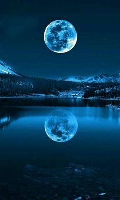 moons reflection