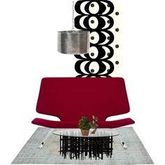 Untitled #1004 by kulta on Polyvore featuring interior, interiors, interior design, home, home decor, interior decorating, Alias, GO Home Ltd., Marimekko and Arteriors