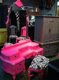 Pink Vanity!!