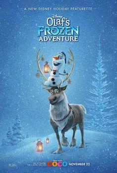 Olaf Frozen Adventure Poster