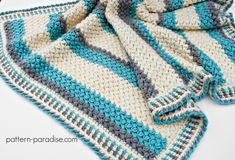 Free crochet pattern for Pillow Soft baby blanket, afghan, throw by Pattern-Paradise.com #crochet #patternparadisecrochet #blanket #baby