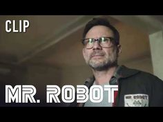 Robot (Christian Slater) has a question. Watch the final season of Mr. Robot premiering Sunday, October 6 at on USA Network. Carly Chaikin, Christian Slater, Usa Network, Executive Producer, Award Winner, Change The World, Finals, Robot, Writer