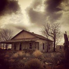Abandoned Farmhouse on FM 400 Floyd County, Texas