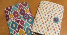 Handmade Pocket Notebook using Bohemian DSP by Stampin' Up         Do you ever seen something on the internet and think - that is too easy ...
