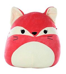 Squishmallow Plush Large Stuffed Animals Cute Soft Squishy Toys for Kids C. Fox Pillow, Pillow Pals, Plush Pillow, Large Stuffed Animals, Fox Stuffed Animal, Kids C, Kids Toys, Children, Fluffy Animals