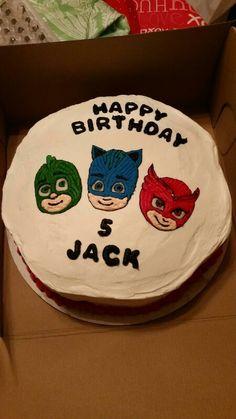 PJ Mask Birthday Cake