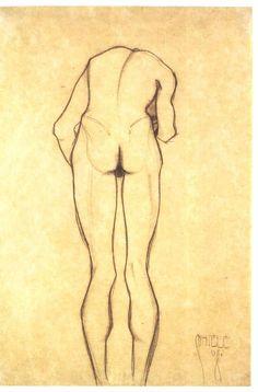 Egon Schiele, 1908