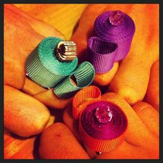 Three Floral collection rings by SciccheLab - www.scicche.it