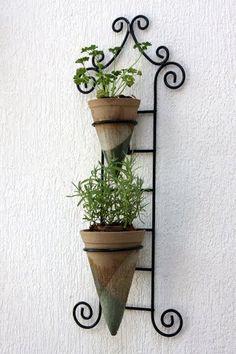 horta vertical - Varandas Gourmet