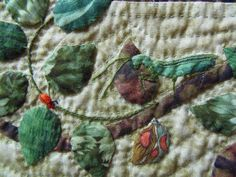 Faeries and Fibres: Flora and Fauna Quilt