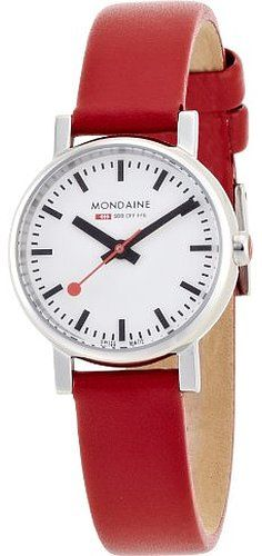 Mondaine Women's A658.30301.11SBC Quartz Evo Leather Band Watch