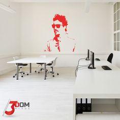 Legends Wall Vinyl - Alonso Silhouette   3Dom Wraps – 3Dom Wraps Store