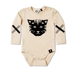 Kapow Kids Tiger Bodysuit online at A Little Bit of Cheek