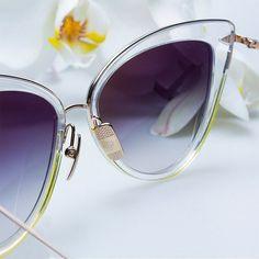 bb99f7ede7421 Heartbreaker Cat Eye Sunglasses in Black or Brown