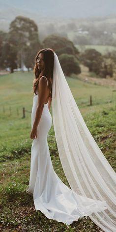 30 Bohemian Wedding Dress Ideas You Are Looking For ❤ bohemian wedding dress simple with straps low back wandererandthewild #weddingforward #wedding #bride