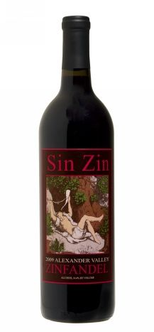 Alexander Valley Vineyards - Sin Zin is a tasty spicy red perfect for accompanying grilled burgers or pizza in the summer months. First taste and I am hooked!