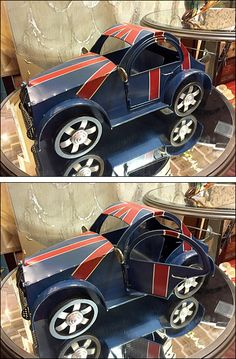 If your miniature merchandise has special features, like the opening doors on this vintage Union Jack emblazoned British Sports Car,… British Sports Cars, Union Jack, Cars For Sale, Automobile, Miniatures, Doors, Vintage, Motor Car, Autos