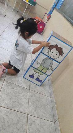 Diy Crafts - Pin by Alena B. on Ľudské telo Toddler Learning Activities, Fun Activities For Kids, Sensory Activities, Classroom Activities, Teaching Kids, Kids Learning, Math Crafts, Preschool Crafts, Diy Crafts