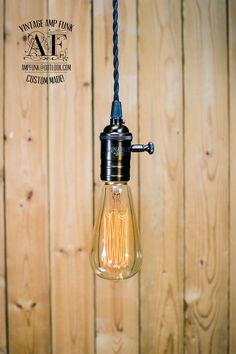 A dimmer brass simple pendant.  We can modify this pendant light You can choose AC electric plug, fabric wire in many colors and length. Contact