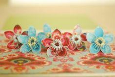 Projects: Papercraft Kusudama Flowers