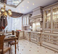 кухни в классическом стиле фото: 19 тыс изображений найдено в Яндекс.Картинках