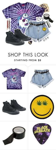 """""""skyscraper // bad religion"""" by trashpunk ❤ liked on Polyvore featuring Mishka, Converse and Dakine"""