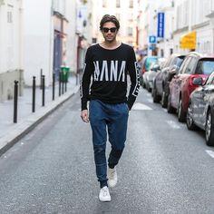 Casual styling  mr Gold in @nanajudy_ #nanajudy #streetstyle #impavid #pfw by thetrendspotter