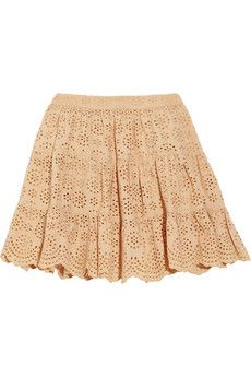 Paul & Joe Sister  Guilieta broderie anglaise cotton skirt  £160