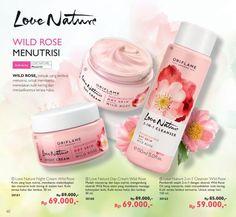 Promo Harga Diskon Rangkaian Love Nature Wild Rose Katalog Oriflame September 2016