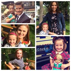 The adorable little actress that plays Miss Christine on Bones
