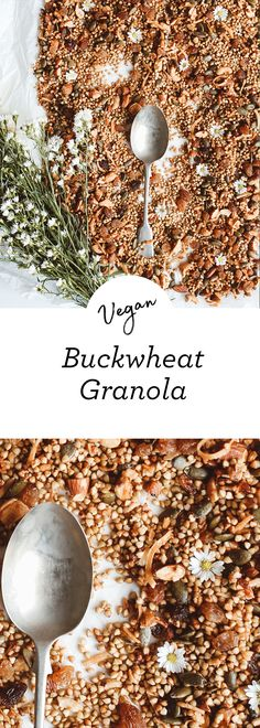 This go to crunchy granola is delicious on its own as a snack, with yoghurt for breakfast, or as a smoothie bowl topper. Buckwheat kernels are a gluten free source of amino acids, vitamins, minerals and antioxidants. The perfect choice when you're feeling snacky!