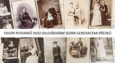 Osudy potomků jsou ovlivňovány sedmi generacemi předků | AstroPlus.cz Vip, Movies, Movie Posters, Painting, Psychology, Film Poster, Films, Popcorn Posters, Painting Art