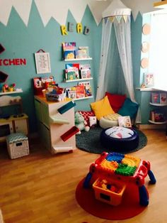 Playroom or bedroom ideas