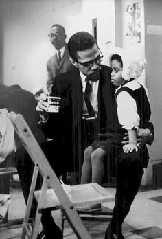 Malcolm X at the headquarters of Malcolm's Organization of Afro-American Unity (OAAU) at Hotel Theresa in Harlem on February Black Leaders, Civil Rights Leaders, By Any Means Necessary, Vintage Black Glamour, Malcolm X, Black History Facts, Black Image, Black Pride, African American History
