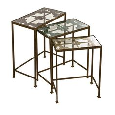 Imax Torry Nested Tables Set Of Three On SALE