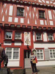 Casa em estilo enxaimel - Koblenz - Alemanha