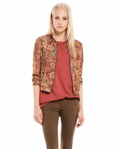 Bershka Georgia - Bershka printed jacket