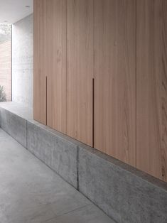 love storage and built in bench seats - concrete/ floating boxed day bed/ reading nook Architecture Details, Interior Architecture, Victorian Terrace House, Timber Cladding, Tile Design, Modern Interior Design, Joinery, Wood Paneling, Interior Inspiration