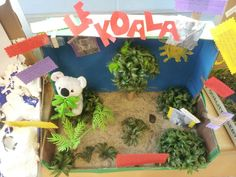 Habitats -My students made these models in the classroom! Gr 4