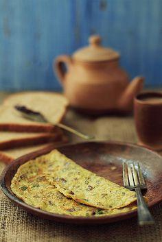 Indian Omelette #omelet #eggs #indian #brunch #breakfast