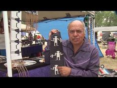 ▶ Native American creates rare wampum bead pieces - YouTube