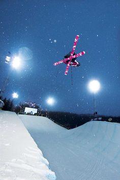 Sarah Burke. Ski in Peace...