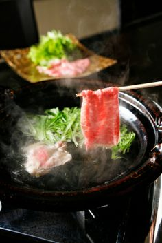Best Shabu Shabu in Japan - Imahan in Tokyo