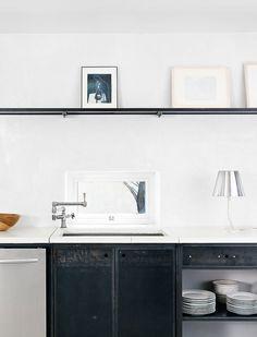 Kitchen. Grossman Residence by Casey Dunn.