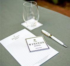 The Winston Hotel stationery