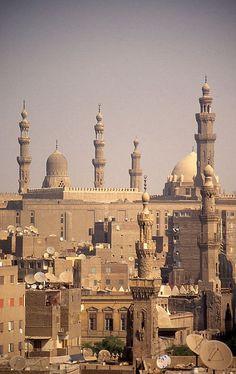 Cairo minarets in Egypt