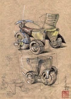 Conception Sketches Hakan Gürsu designer d'origine Turc Fondateur de Designnobis www.hakangursu.com