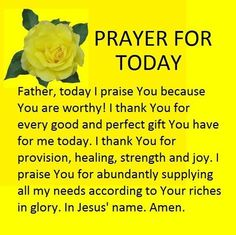 Prayers for Strength is with Semma Gliponeo and 3 others. Prayer Of Praise, Prayer For Guidance, Prayer For Today, Prayers For Strength, Prayer For Family, Prayers For Healing, God Prayer, Power Of Prayer, Prayer Quotes For Strength