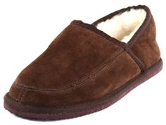 Snugrugs Men's Suede Full Slipper with Full Wool Lining and Hard Sole (Camel or Brown) - http://shoes.goshopinterest.com/mens/slippers-mens/snugrugs-mens-suede-full-slipper-with-full-wool-lining-and-hard-sole-camel-or-brown/
